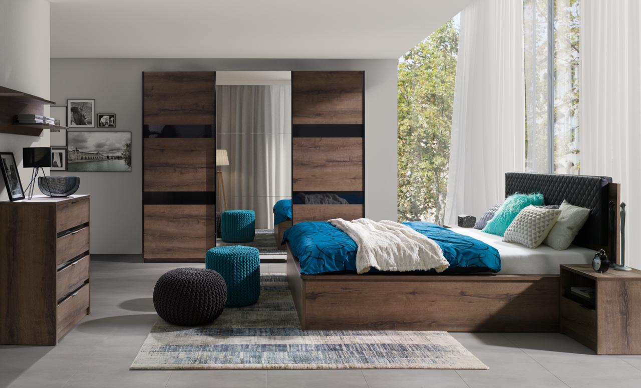 Bedroom Furniture DENVER 5 - FURNITOP.IE